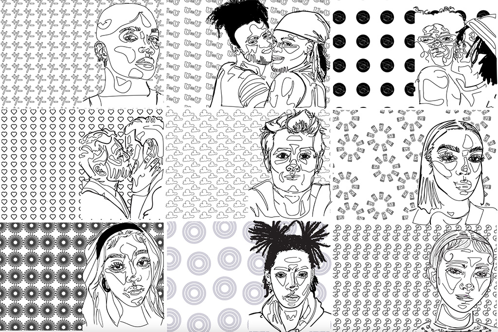 Kemp created an adult coloring book meant to educate young adults about AIDS transmission and U=U.