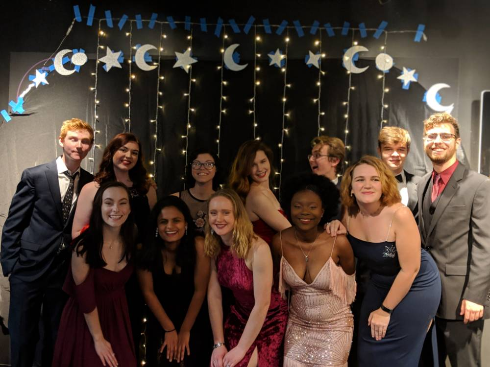 Letting loose and having fun: Students celebrate first gala 'Under the Stars'
