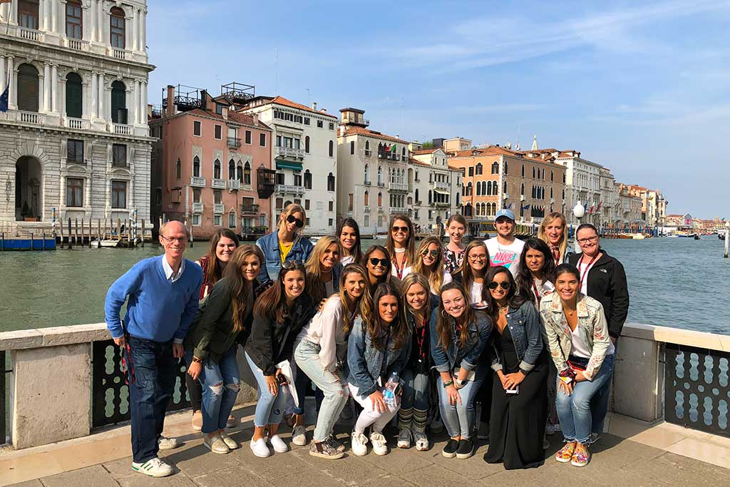 Study abroad in Italy.