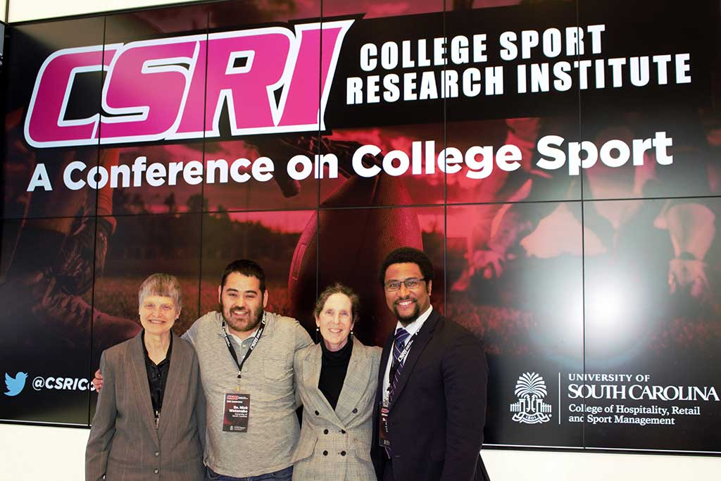 Home to the College Sport Research Institute, students have access to industry researchers and thought leaders at CSRI's annual conference.