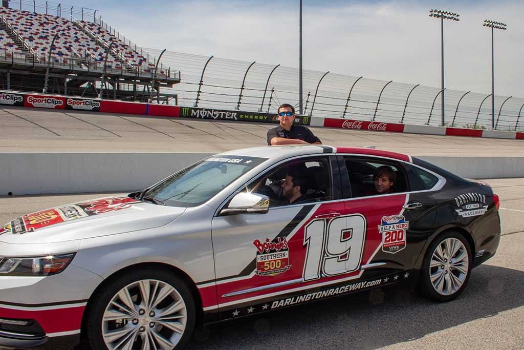 Learn about the business of NASCAR at the track with racing executives.