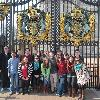 HRSM students take a minute to pose in front of England's famous Buckingham Palace gates on their spring break trip visiting venues across Ireland and the United Kingdom.