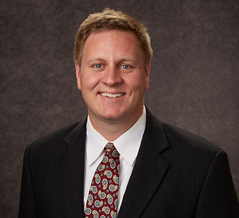 Collin Crick, Director of Enrollment Management and Professional Development