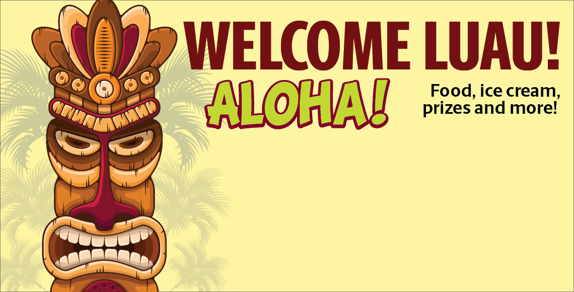 College of HRSM Welcome Luau is on Wednesday, August 28 from 4-5:30 p.m at the McCutchen House. Free for all HRSM students!