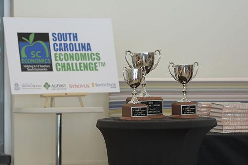 Trophies at SC Econ Day