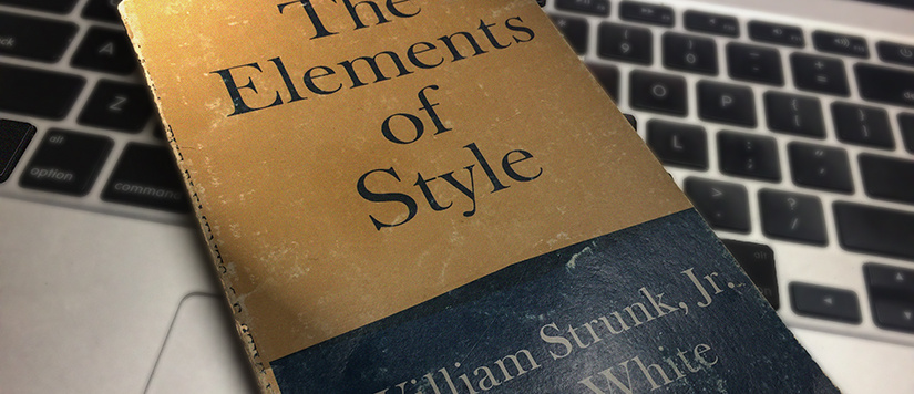 Elements of Style manual