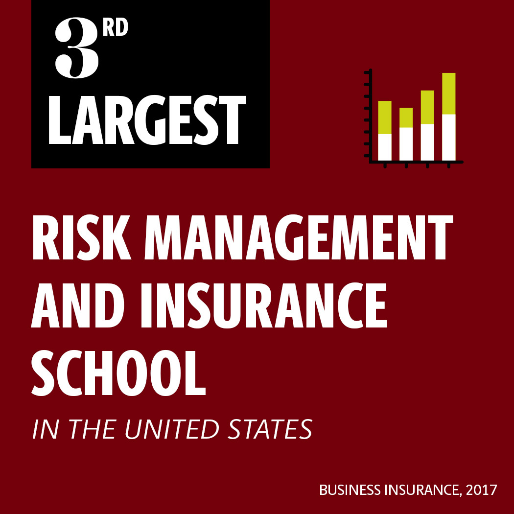 third largest risk management and insurance school in the U.S. by Business Insurance 2017