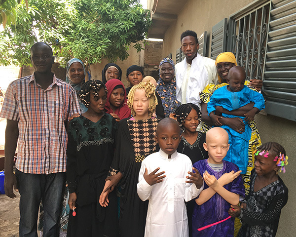 Ibrahim Famouke Doumbia and his family