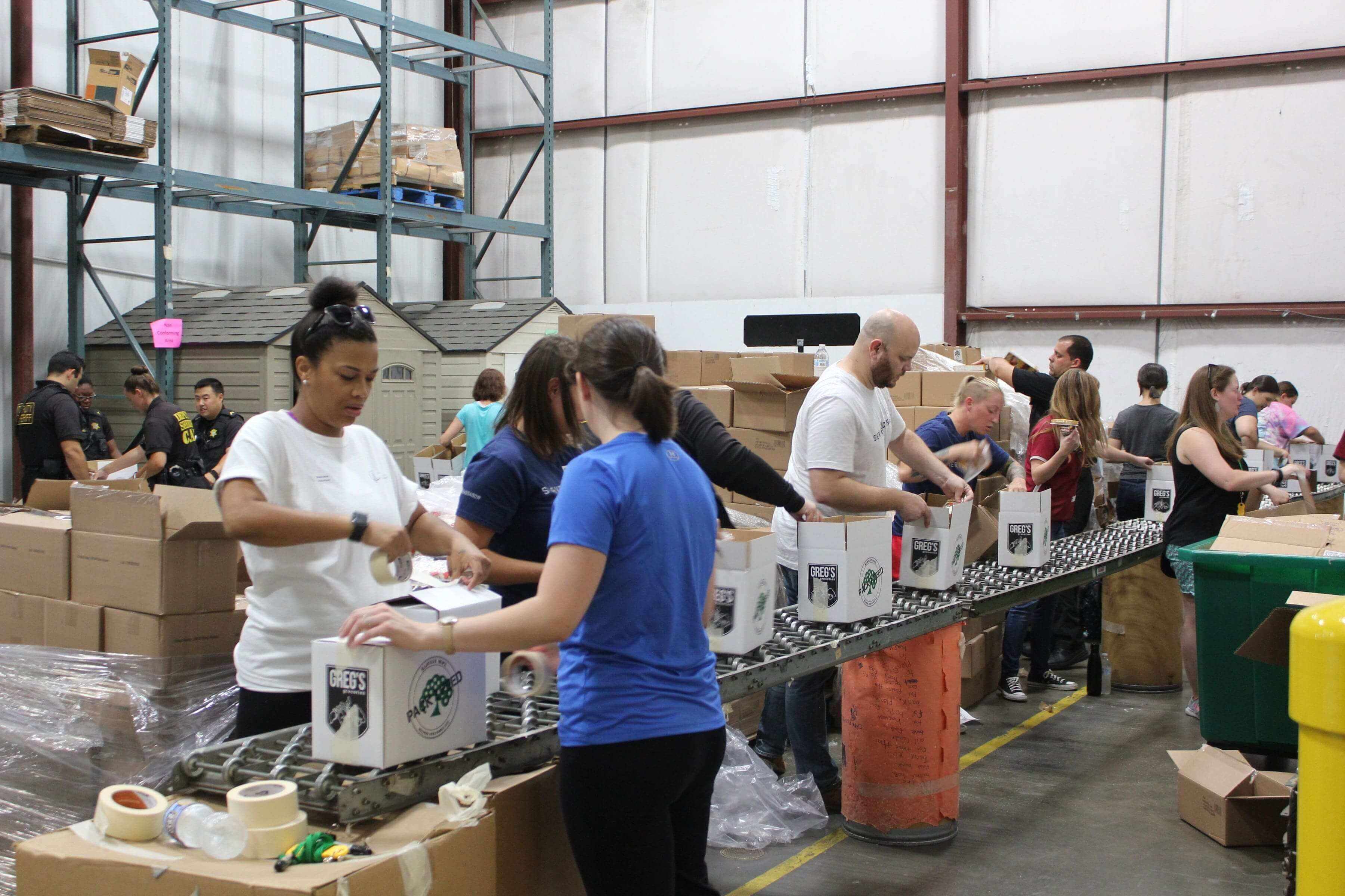 harvest hope food bank supply chain