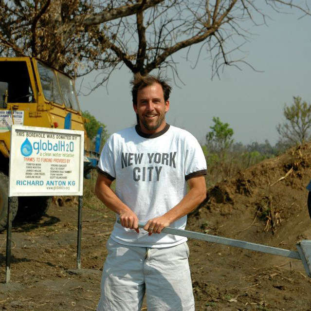 James Wilde (IMBA '96) started the clean water initiative Global H2O in 2009.