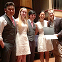 The Biscopink String Quartet wins first prize in USC's Chamber Music Competition