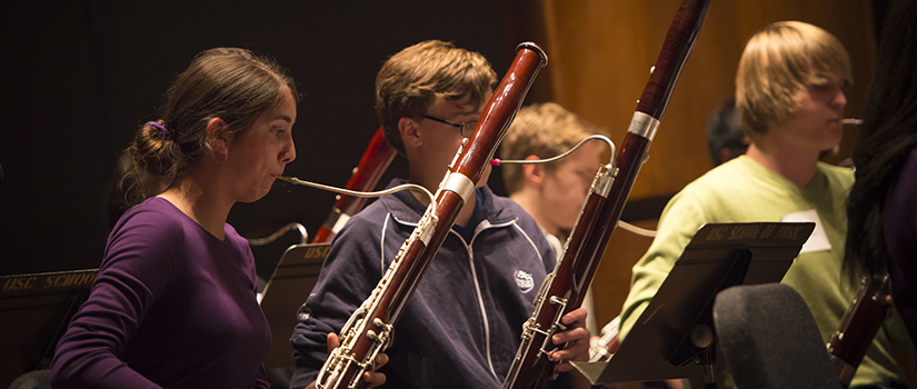 double reed students