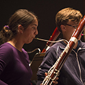 Bassoon students