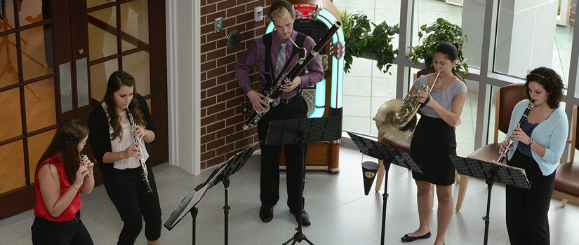 Chamber Music Ensemble at Dorn VA Hospital