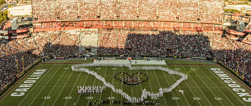 Carolina Band at Williams-Brice Stadium