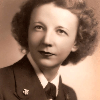 Founding dean Amy Cockcroft during her service in the Navy