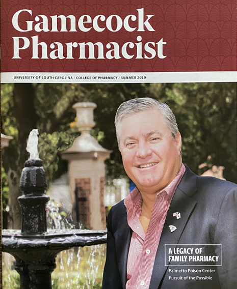 Gamecock Pharmacist magazine cover - AU 2019