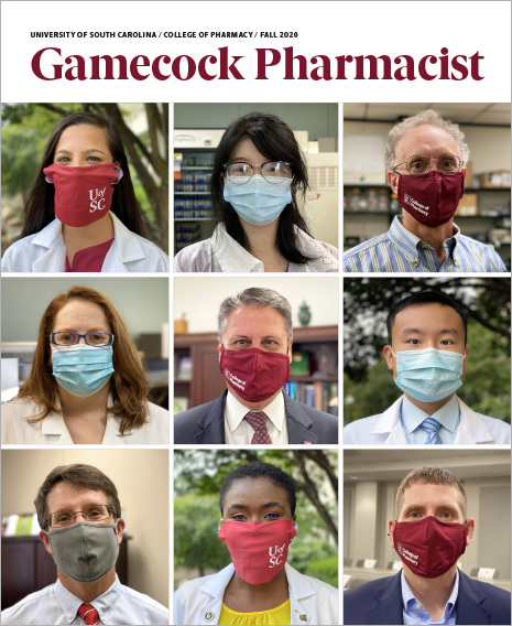 Gamecock Pharmacist magazine cover - Fall 2020