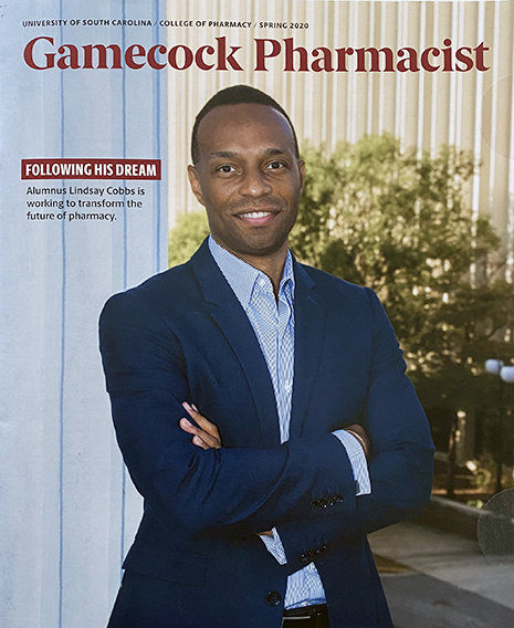 Gamecock Pharmacist magazine cover - Spring 2020