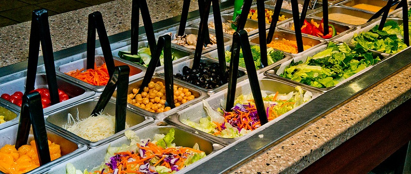 Salad buffet options