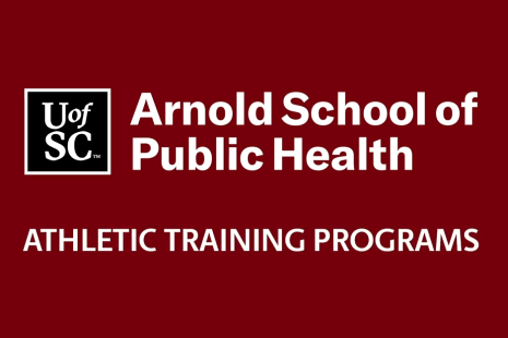 Video still with title card that reads Athletic Training Programs at the Arnold School of Public health