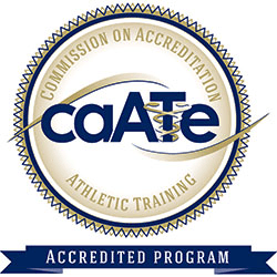 Commission on Accrediation of Athletic Training Education logo