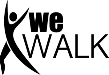 we walk study logo