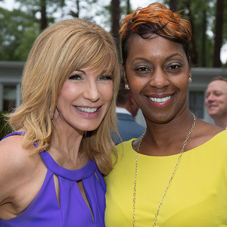 Macie Smith and Leeza Gibbons