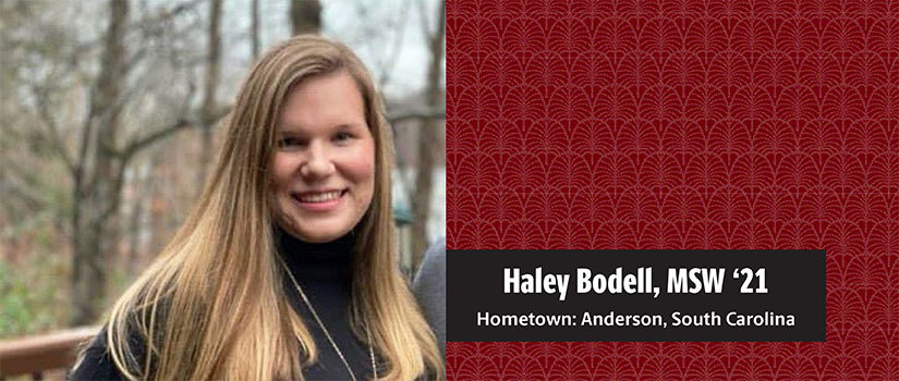Headshot of MSW student Haley Bodell