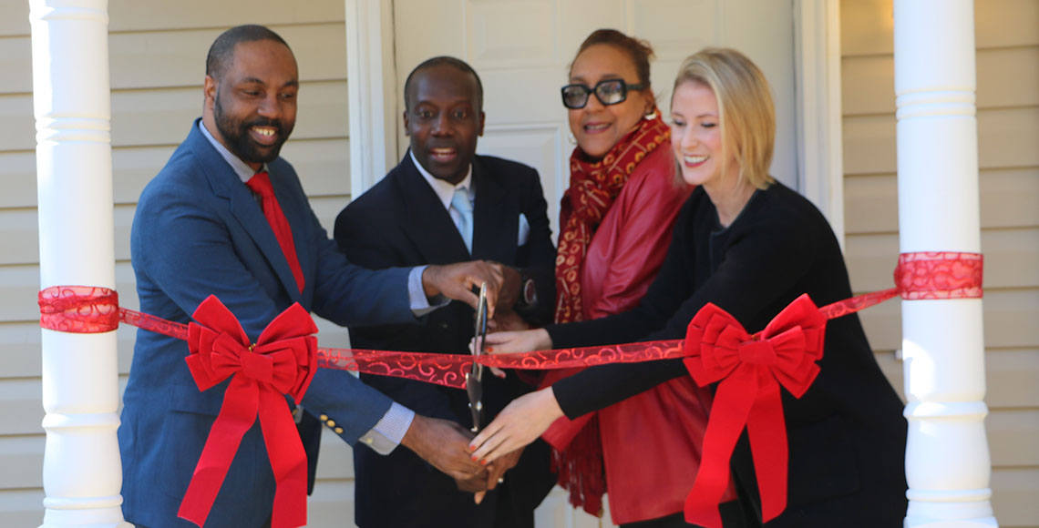 SmartHOME Ribbon Cutting
