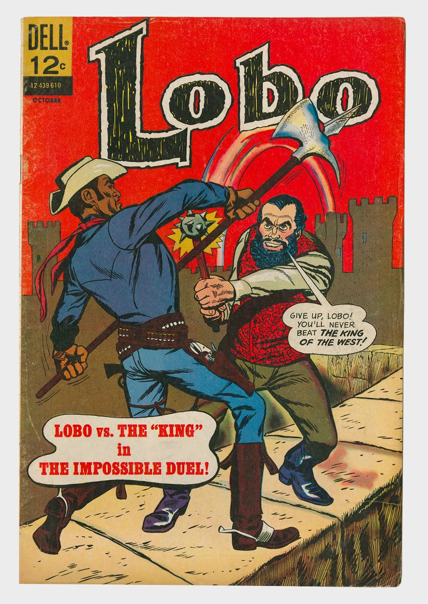 Lobo comic book cover