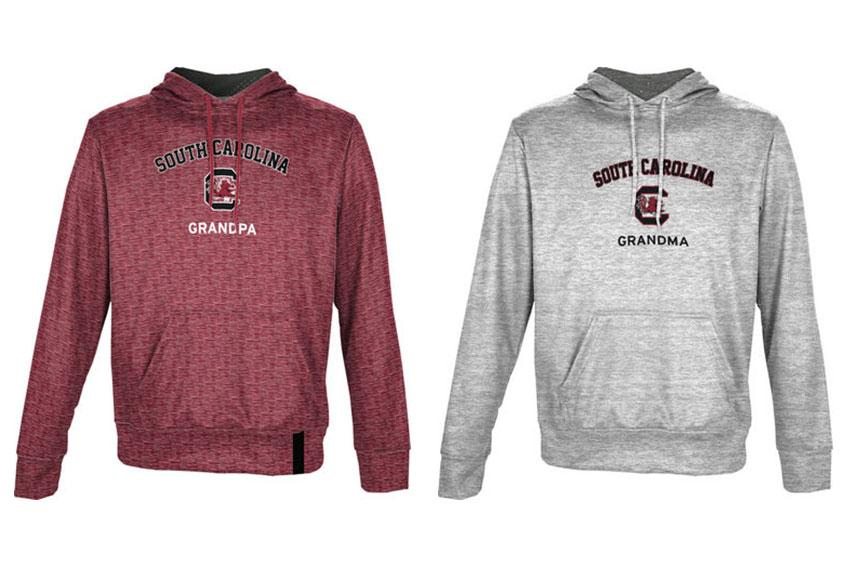 For the grandparents: Treat your grandparents to these comfy, cozy hoodies, so they can rep your favorite school.