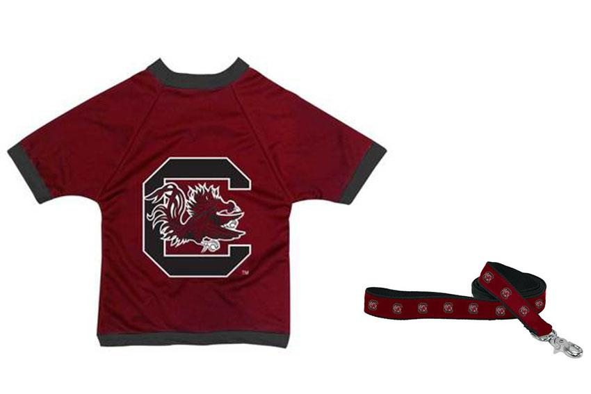 For the dog-lover: If you have a friend or family member who treats their beloved pup like a child, a dog football jersey and UofSC leash make for the perfect gifts for them and their furbaby.