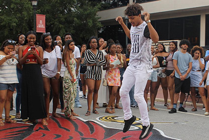 The Office of Multicultural Student Affairs' Hip Hop Wednesday is definitely a crowd favorite. Stop by Greene Street between classes on Feb. 5, March 4 and April 8 while a DJ spins new and old school hip hop music.