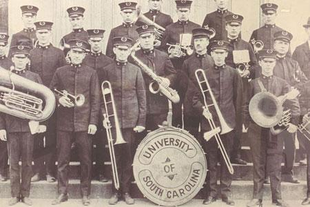 1920 Marching Band group shot