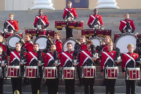 Marching Band drumline 2004