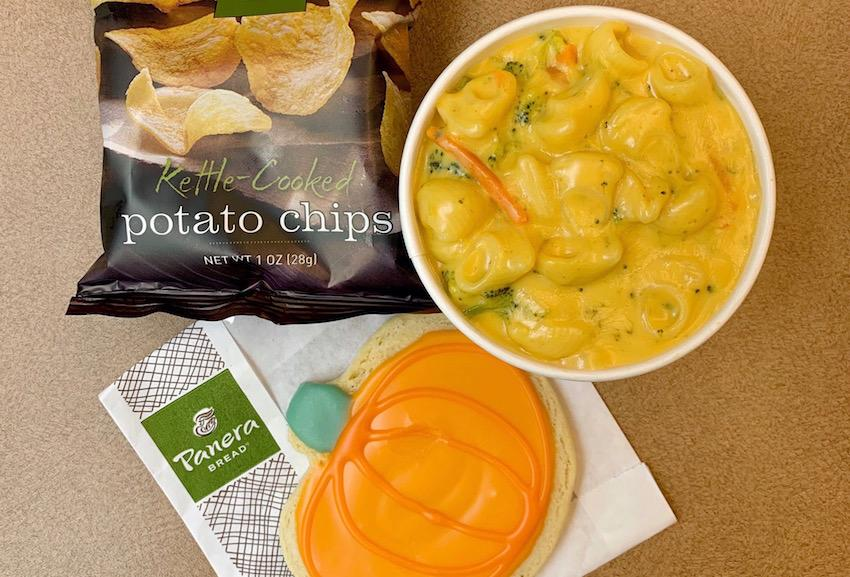 Indulge in signature soups, delicious sandwiches, pasta bowls, healthy salads or choose from all the treats in the bakery at Panera Bread in Russell House.