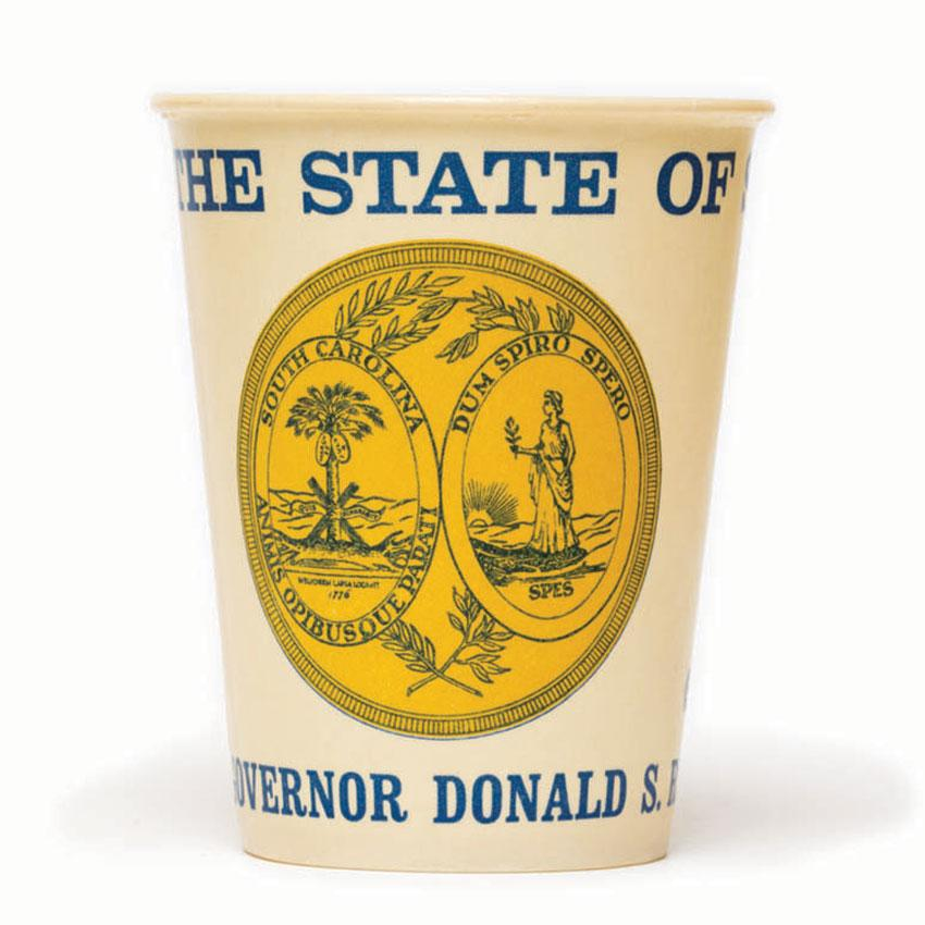 PAPER CUP, GOV. DONALD RUSSELL
