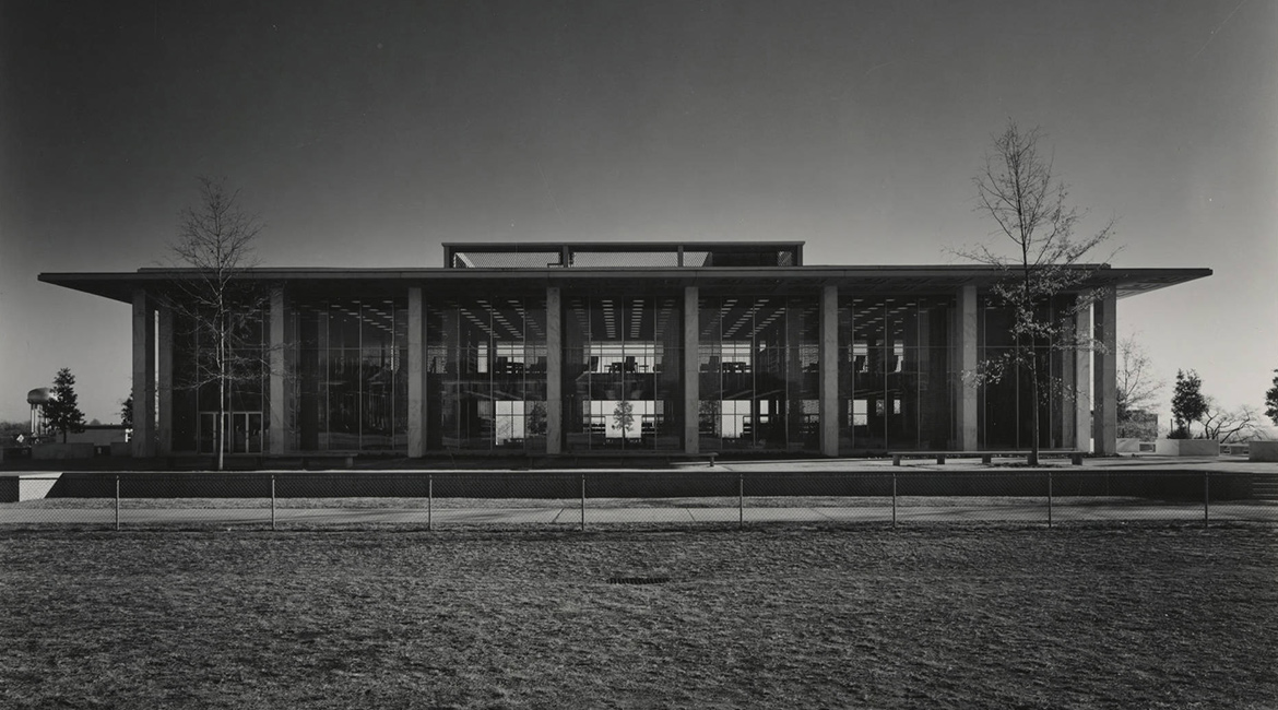 Thomas Cooper Library in 1959