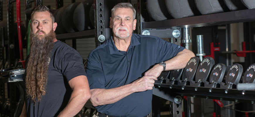Bert and Richard Sorin, owners of Sorinex