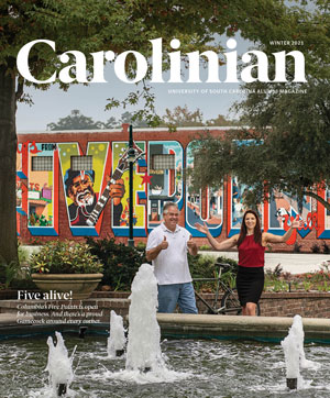 Carolinian magazine cover winter 2021
