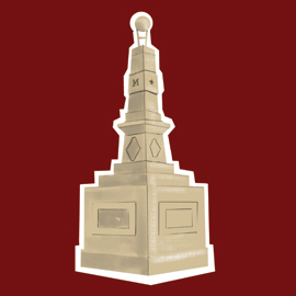 illustration of Maxcy Monument
