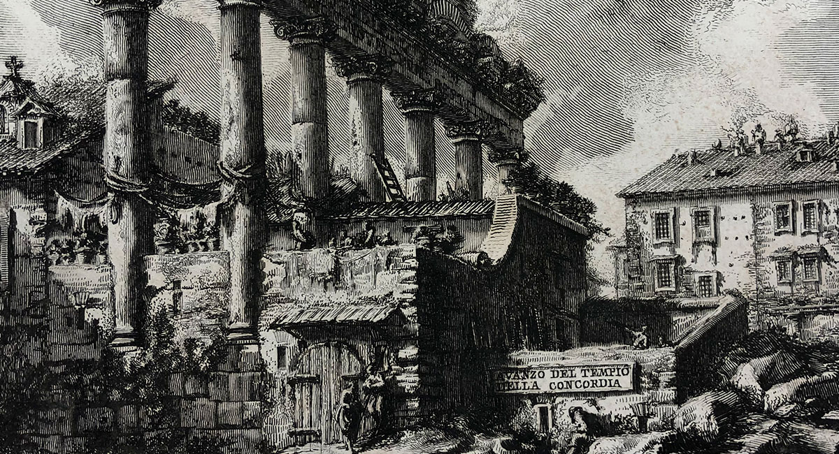 drawing from the piranesi collection