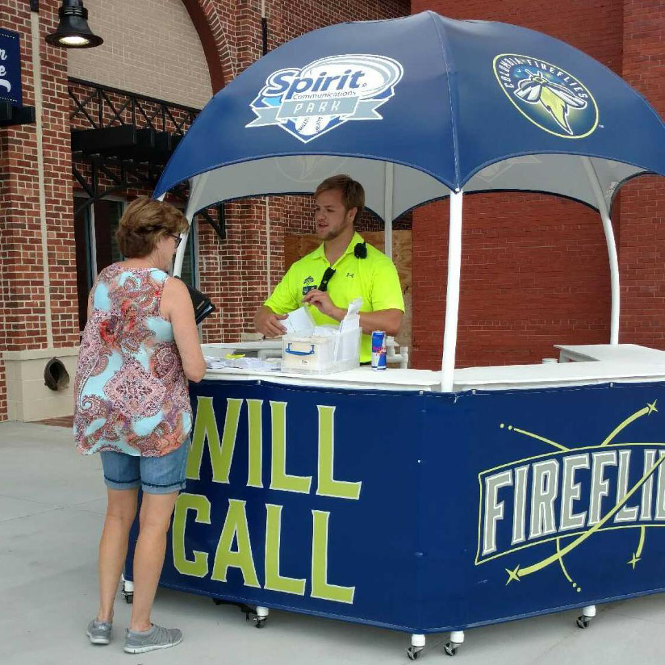 Student interns and alumni are helping the Columbia Fireflies glow