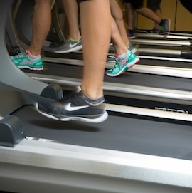 arnold school treadmill