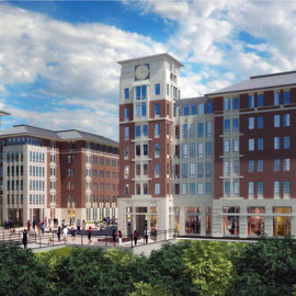 campus village rendering