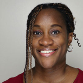 Monique Brown, public health faculty member