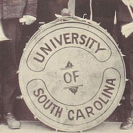 Carolina band drum from the 1920s