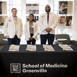 school of medicine greenville students