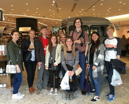 student group in France